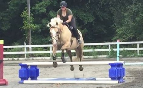 Finally – Jumping Lesson